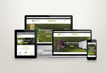Xcel Products New Responsive Website