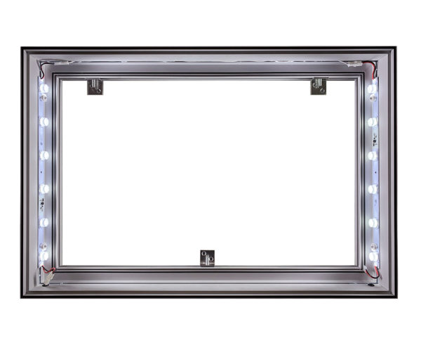 #91 Single-Sided SEG LIghtbox with Edge Lights